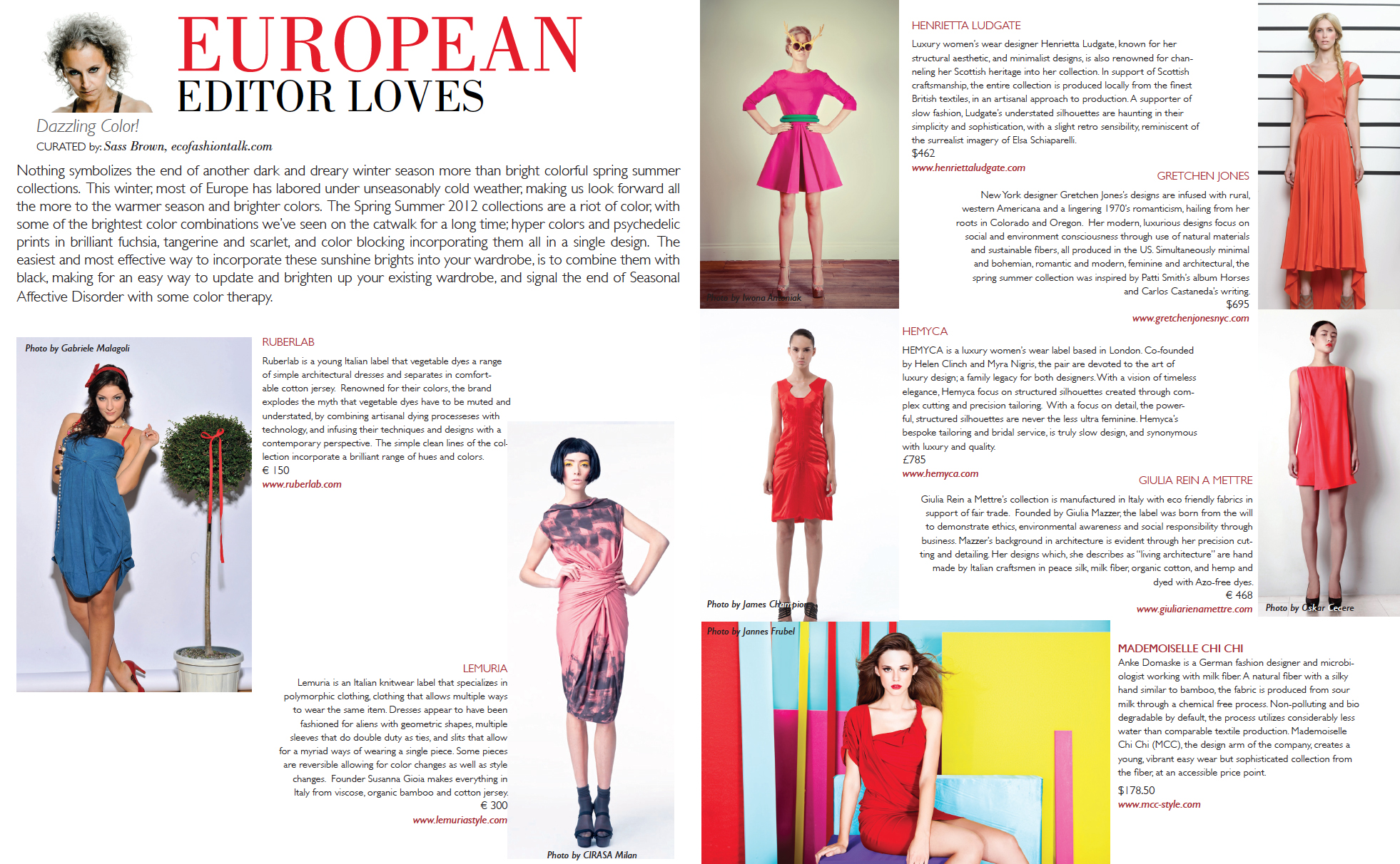 Coco Eco Magazine European Editor Loves Eco Fashion Talk