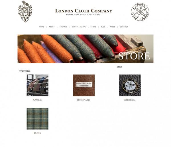 LondonClothCompanyStore
