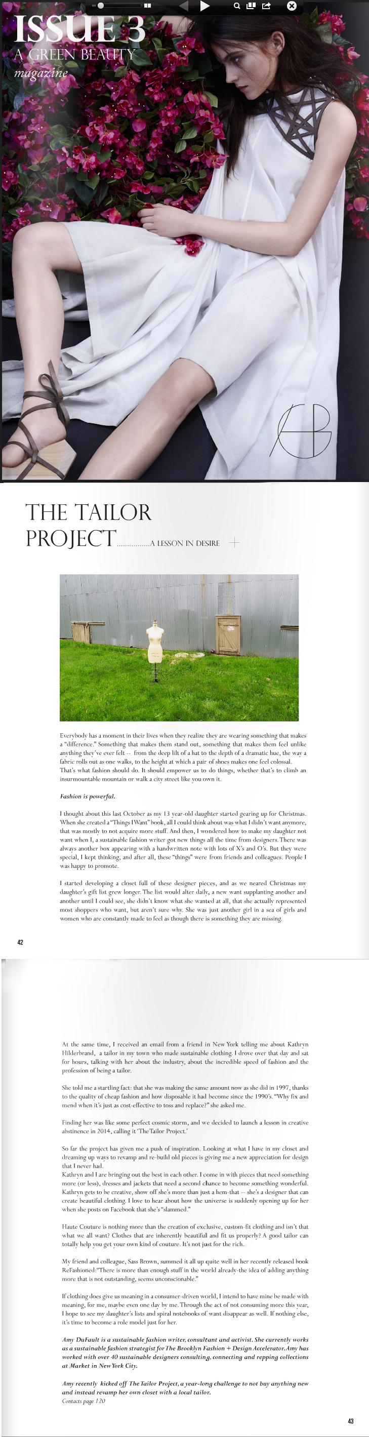 TheTailorProject