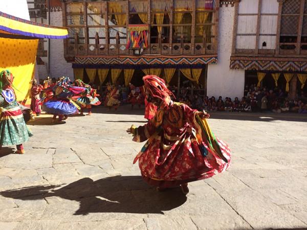 Bhutan dance